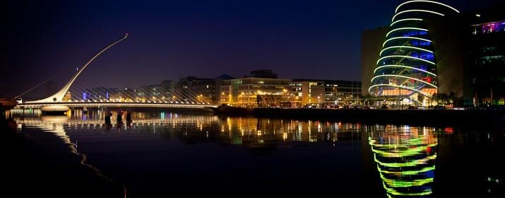 Dublin city Lights