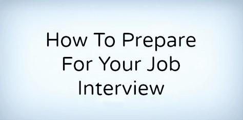 preparing for a job interview dont skip these 6 steps